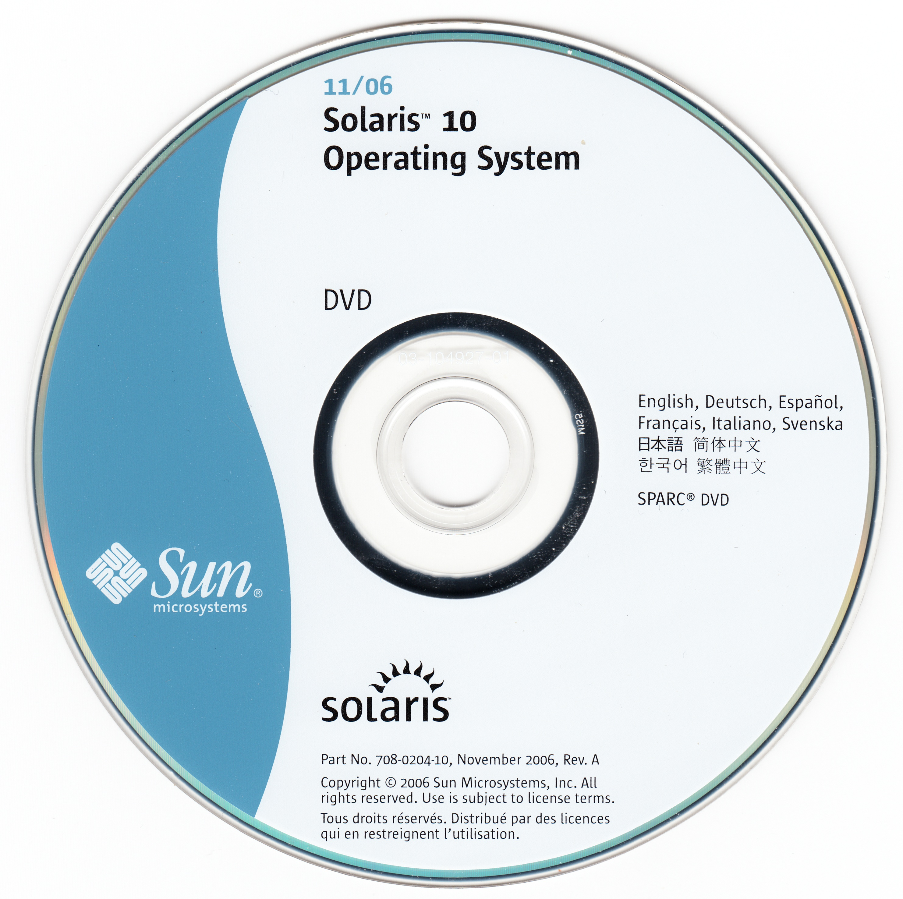 Sun Solaris 10 Operating System 11 06 X86 Sparc Sun Microsystems Free Download Borrow And Streaming Internet Archive