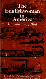 Cover of: The Englishwoman in America | Isabella L. Bird