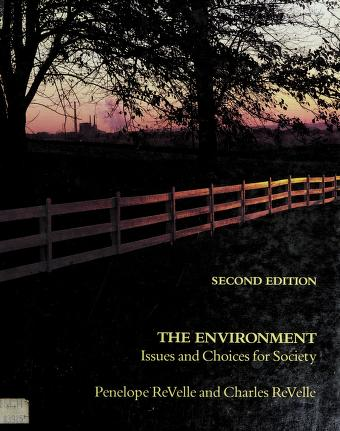Cover of: The environment | Penelope ReVelle