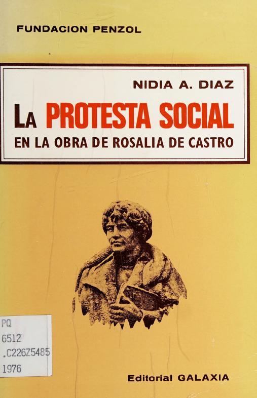 La protesta social en la obra de Rosalía de Castro by Nidia A. Díaz