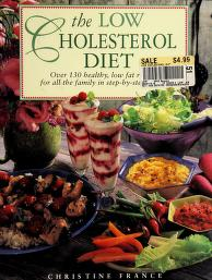 Cover of: Low Cholesterol Diet Over Healthy Lo   Christine France